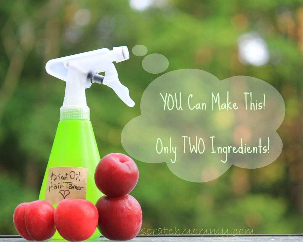 DIY Hair Taming Oil - Only Two Ingredients.