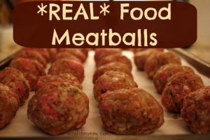 Real Food Meatballs - By Scratch Mommy (WAPF Approved!)