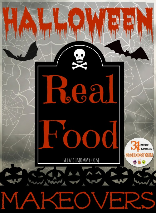RealFoodHalloweenMakeover