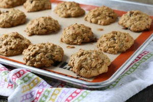Banana Bread Coconut Cookies