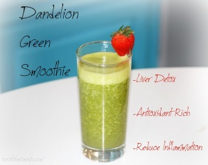 Support your kidneys - Learn how AND get a fantabulous dandelion smoothie recipe!