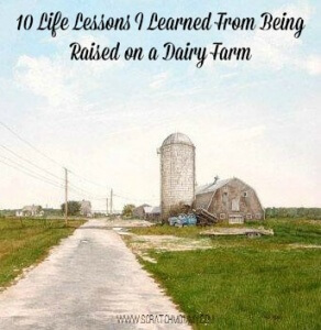 Being a farmer is not for everyone. When you're raised on a dairy farm you learn life lessons that will impact your life forever.