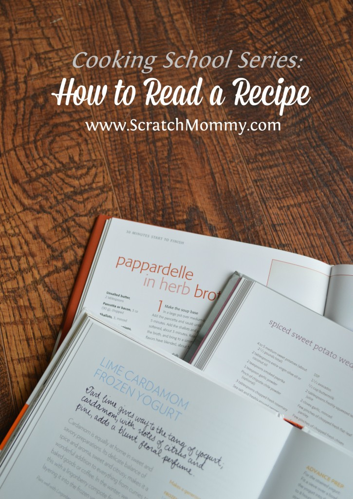 If you have no idea where to start with cooking, or just want to brush up skills, you won't want to miss this. This edition is about how to read a recipe.