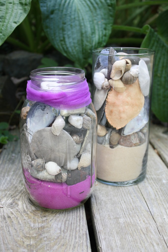DIY Remembering Summer Mason Jar Project is the perfect way to preserve your summer memories
