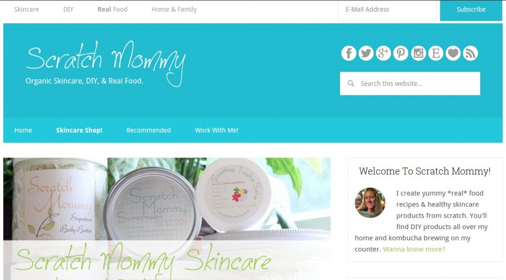 The Original Scratch Mommy Blog