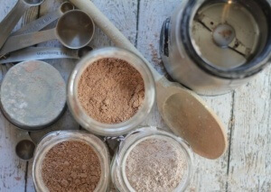 Scratch Mommy DIY Facial Powder