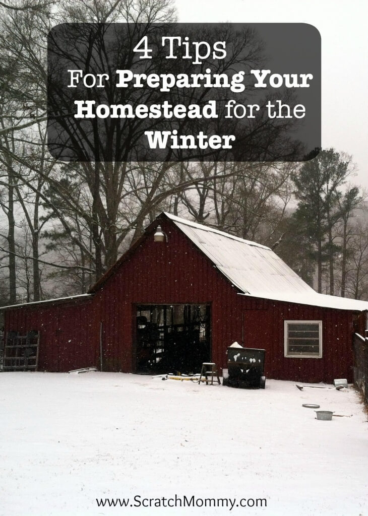 Winter can be serious business on the homestead. Here are some tips when preparing your homestead for winter so you and your animals can stay safe!