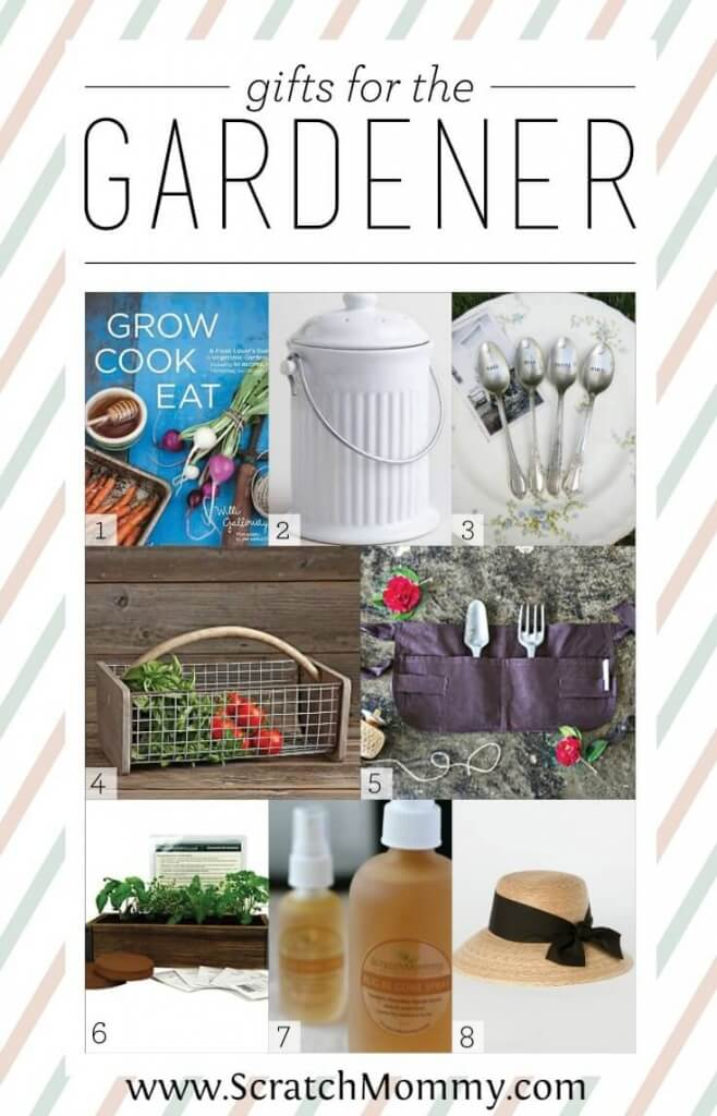 """Give the gardener in your life something that says """"Thanks for all the yummy homegrown food"""" this season with these 8 fabulous gifts for the gardener."""