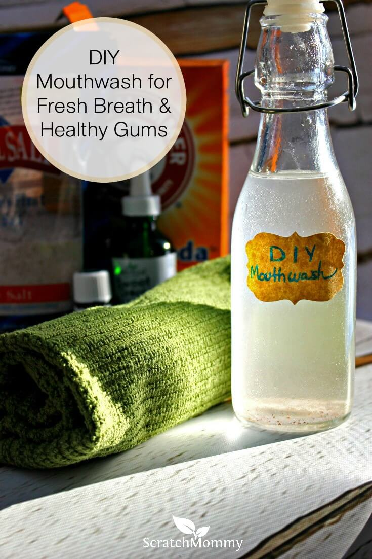 DIY Mouthwash for Fresh Breath and Healthy Gums