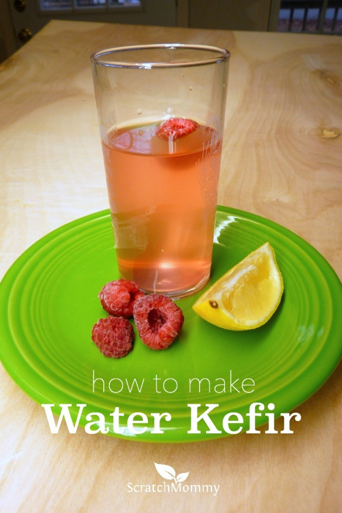 Water kefir is loaded with vitamins, minerals, beneficial enzymes, and it's a great alternative to soda. Plus, it's super easy to make water kefir. Learn how here.