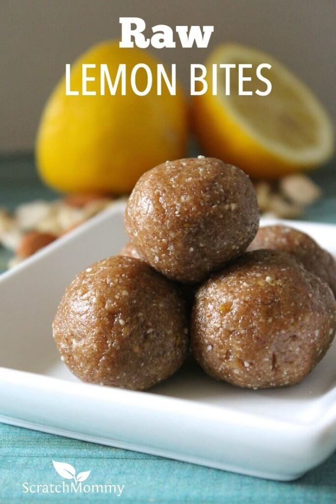 These raw lemon bites only take a few ingredients, five minutes to make, and are great fuel for park days, sports, hiking, biking and definitely camping.