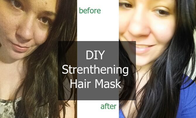 DIY Strengthening Hair Mask