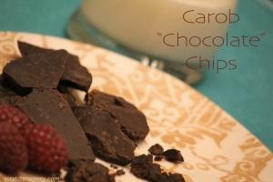Carob Chocolate Chip Recipe