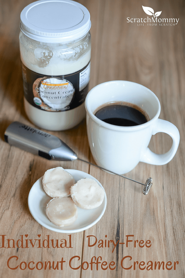 Individual Dairy-Free Coconut Coffee Creamer
