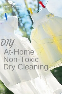 DIY At-Home Non-Toxic Dry Cleaning