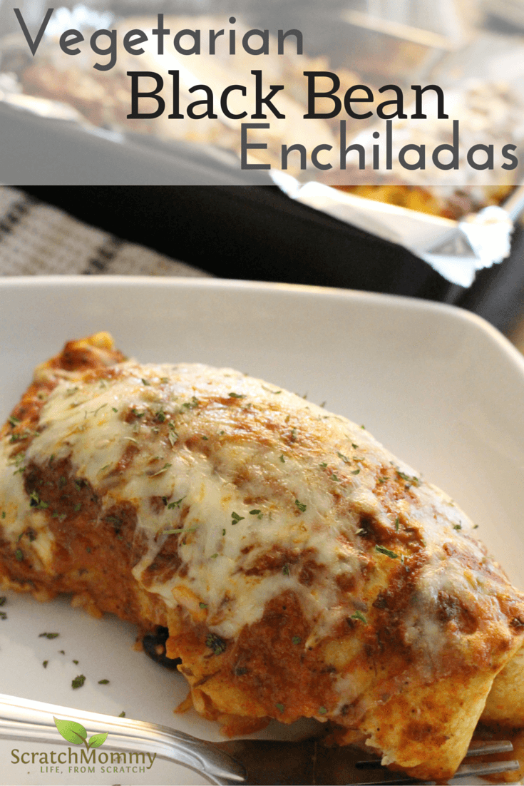 Hearty vegetarian black bean enchilada recipe forumfinder Choice Image