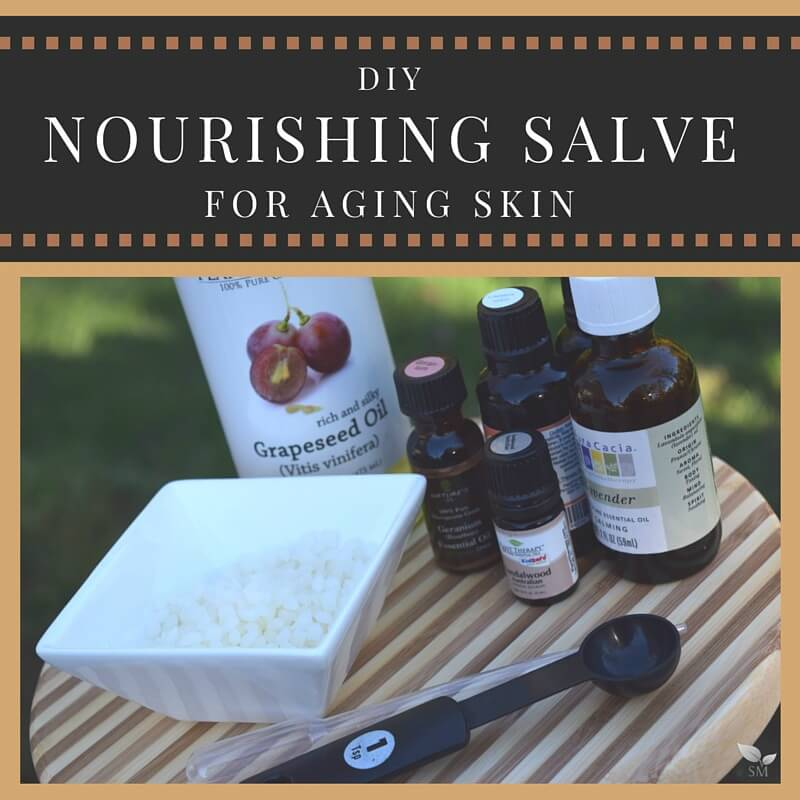 DIY Nourishing Salve for Aging Skin - Scratch Mommy