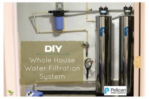 DIY Whole House Water Filtration System Installation - Scratch Mommy + Pelican Water