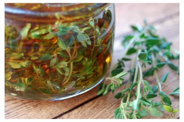 Beautiful Thyme Infused Honey - Great natural remedy for coughs and even delicious in tea (and super easy)!