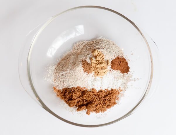 Whole Wheat Gingerbread Pancakes Recipe Dry Ingredients - Scratch Mommy