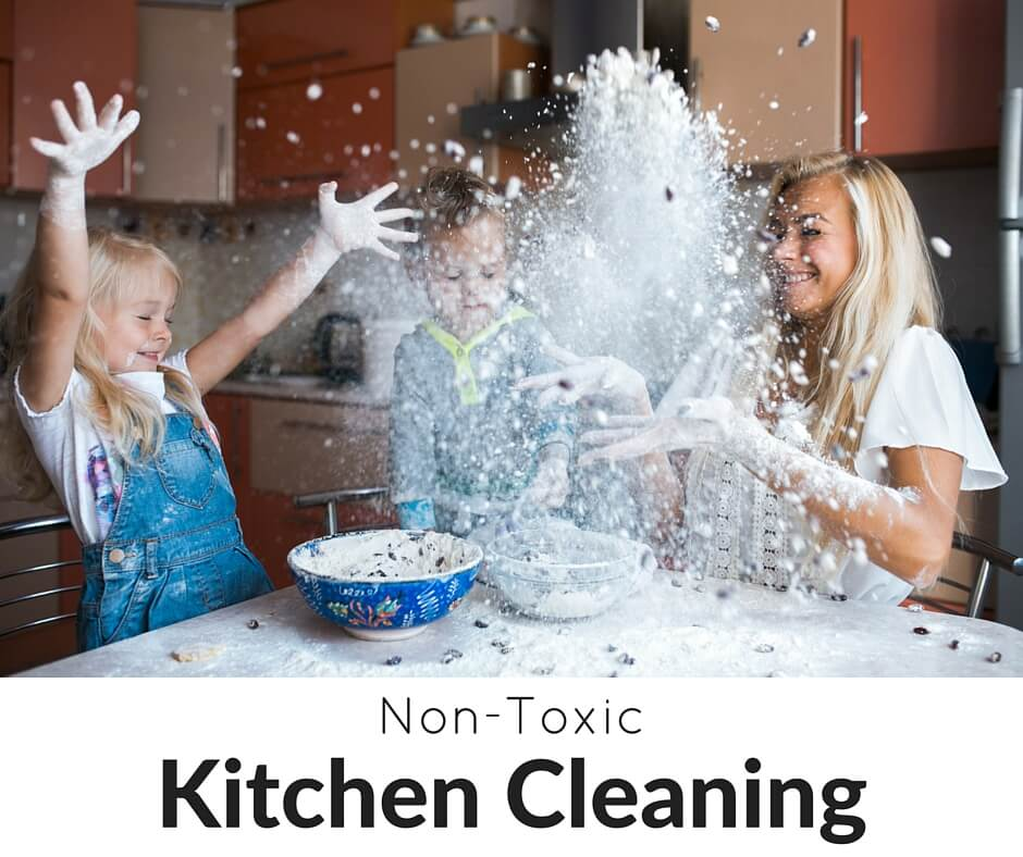 Learn our favorite non-toxic cleaning tips, tricks, tools, and recipes...and grab our free checklist, too!- Scratch Mommy
