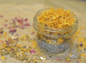 Soothing DIY Foot Bath Recipe (isn't it beautiful)- Scratch Mommy