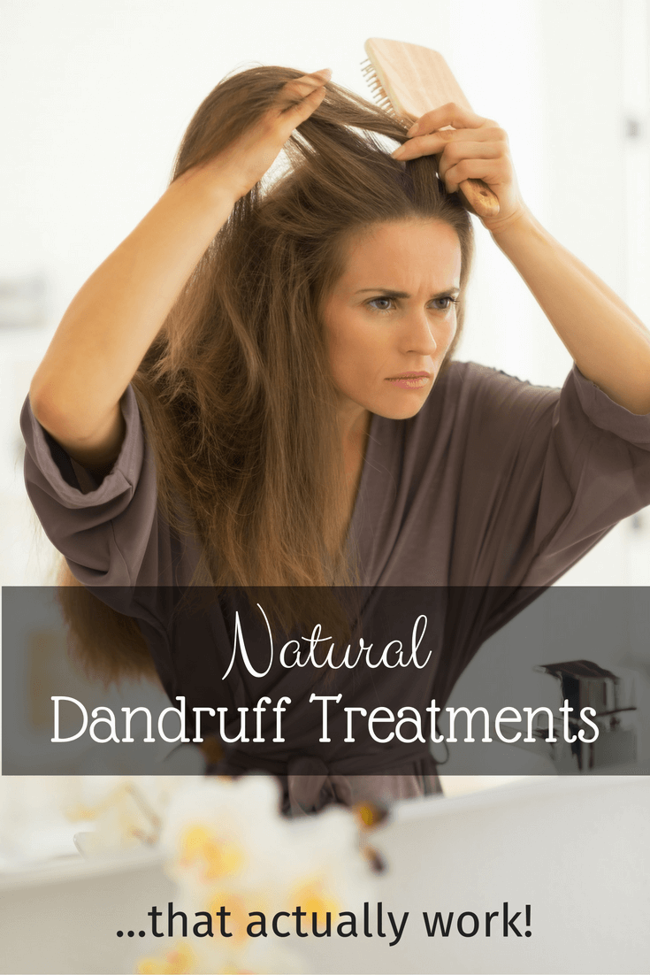 Learn Our Favorite 6 Natural Dandruff Treatments (that actually work)!- Scratch Mommy