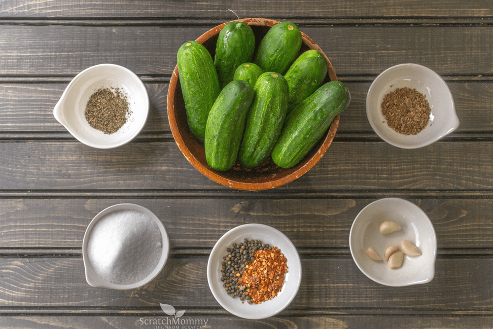 Beautiful fermented pickles are easier than you might think. Get a probiotic boost (and discover our secret ingredient)!- Scratch Mommy
