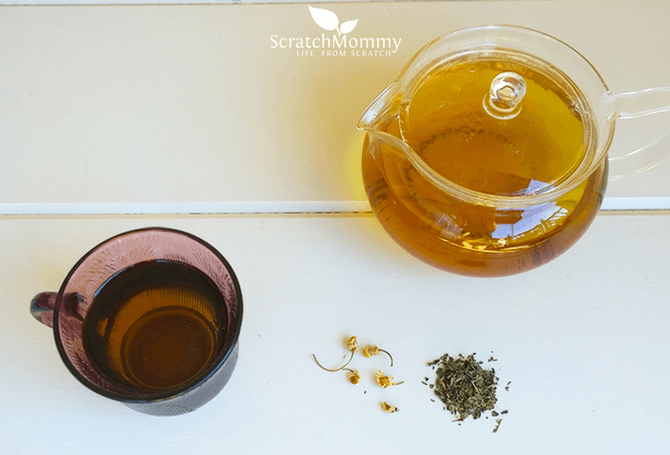 Calming Catnip Herbal Tea Recipe (with 3 tasty herbs for a delicious tea that will soothe and calm)- Scratch Mommy