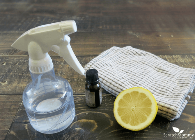 Homemade Wood Cleaner (and polish, all-in-one!) - Scratch Mommy