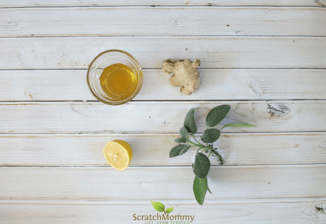 Give your immune system a boost...naturally...with our diy herbal cold care tea. Powerful AND delicious!- Scratch Mommy