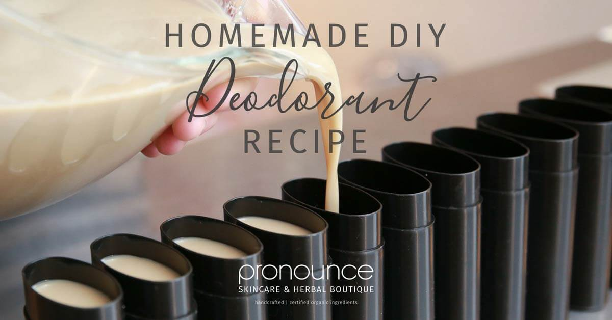 Homemade DIY Deodorant Recipe